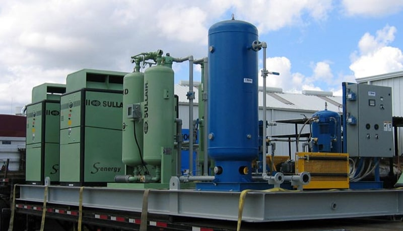 Analysis of Industrial Air Compressors
